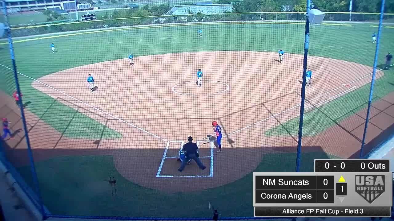 Alliance FP Fall Cup | Oct 2 | 10:45 am Field 3 | Corona Angels vs NM Suncats