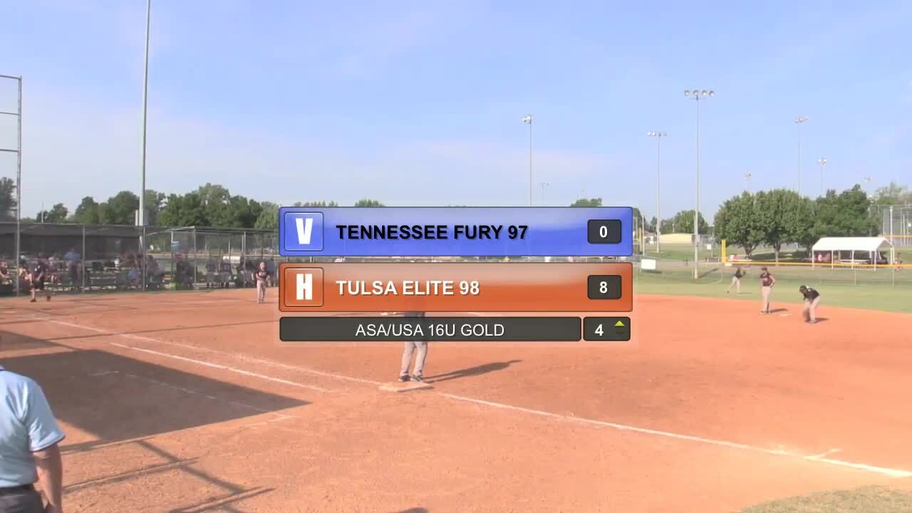ASA/USA 16U GOLD - TN Fury 98 vs Tulsa Elite