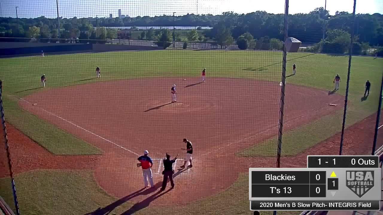 September 6 | Men's Class B SP | 6 pm INTEGRIS | Blackies vs T's 13