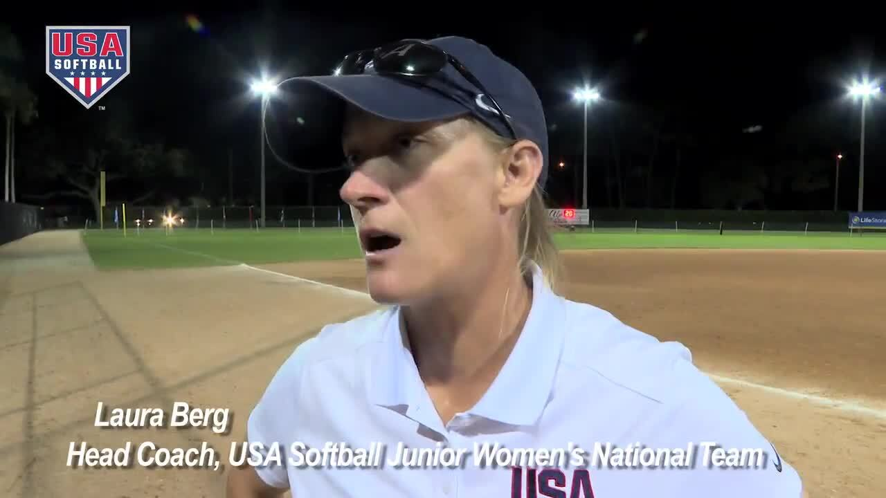 2017 WBSC JWWC - USA Softball JWNT vs Puerto Rico