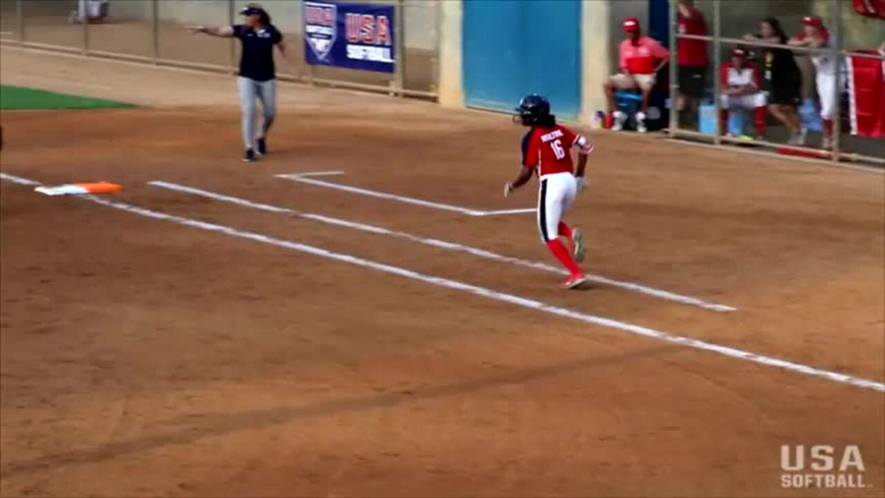 2018 USA Softball International Cup - Day One recap