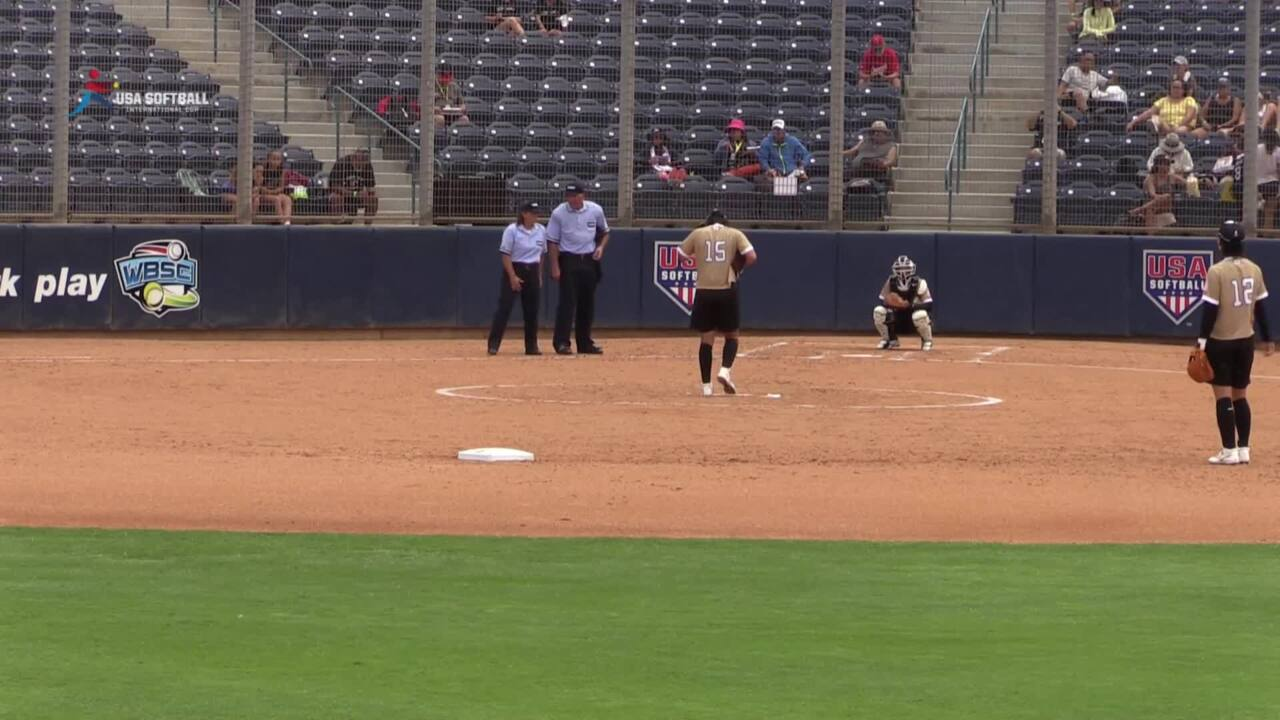 USA Softball International Cup - Japan vs Czech Republic