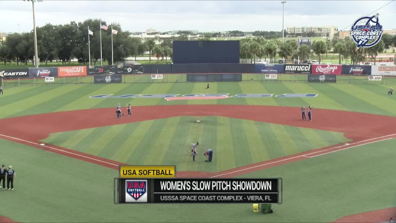 2020 Women's Slow Pitch Showdown | USA Women's Futures vs On Point