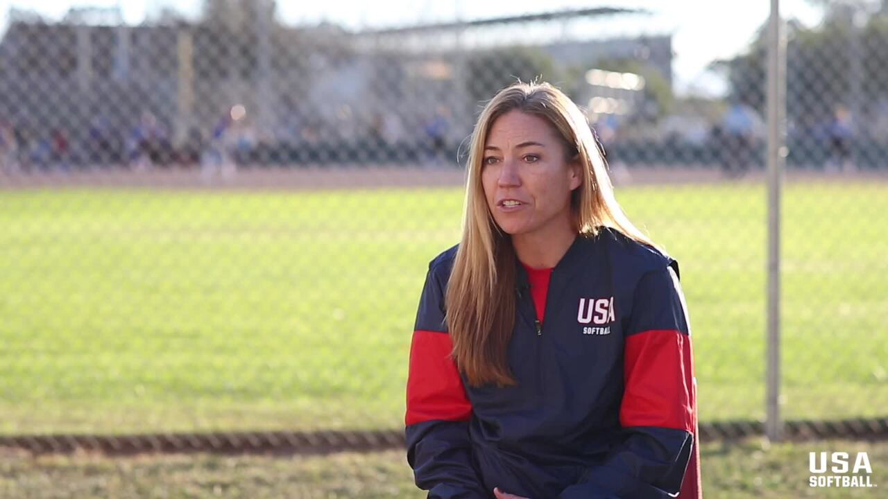 Heather Tarr on her time with USA Softball.
