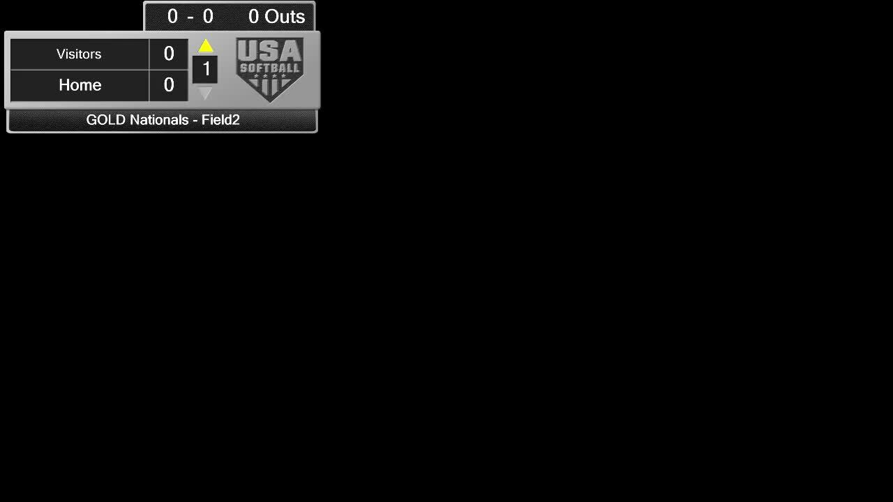 18 GOLD | July 21 | 8 am HOF Field 2 | Firecrackers DFW vs OK Athletics Platinum