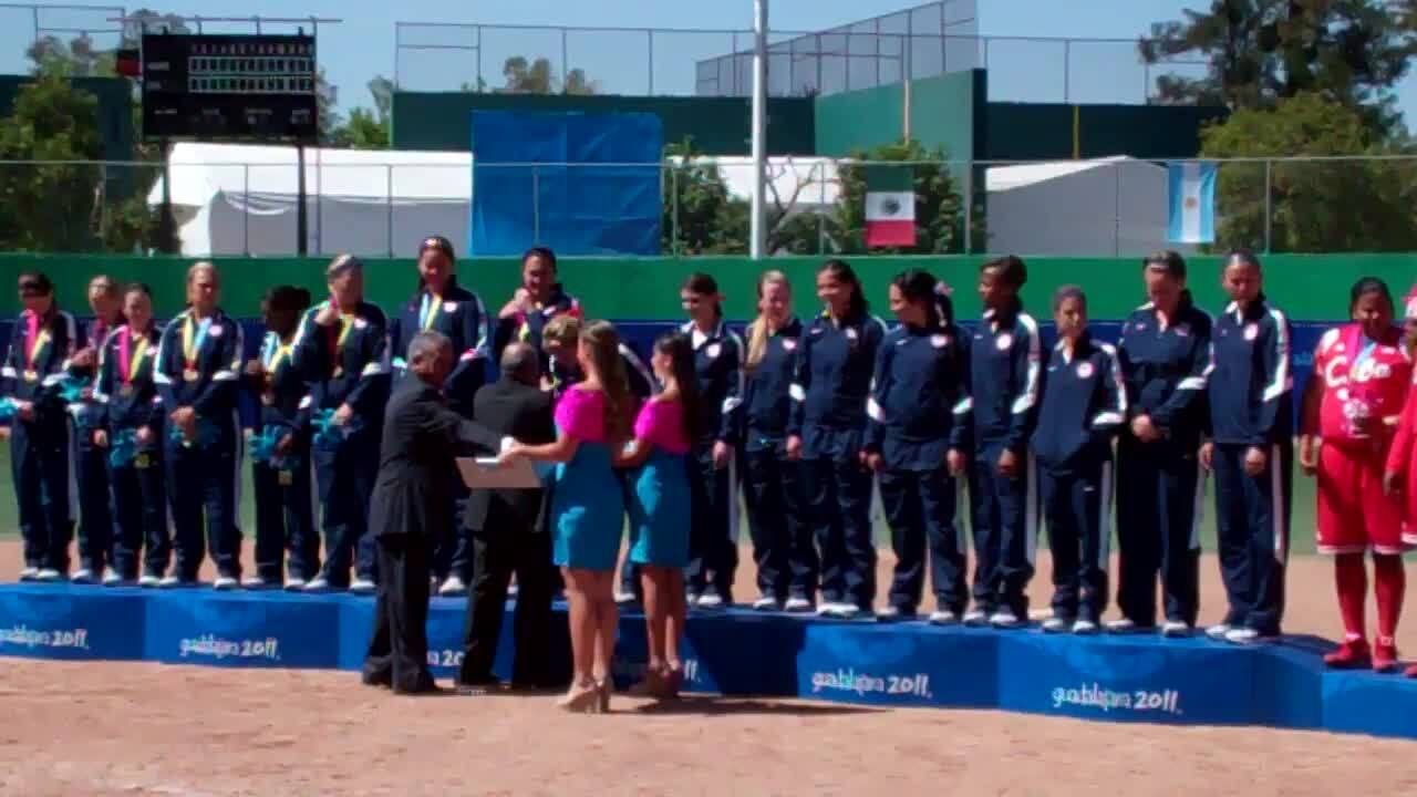 2011 Pan American Games Medal Presentation.MP4