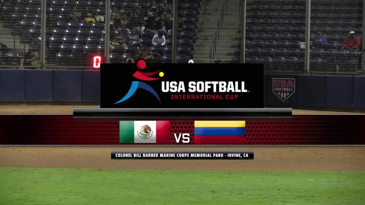 USA Softball International Cup - Mexico vs Colombia