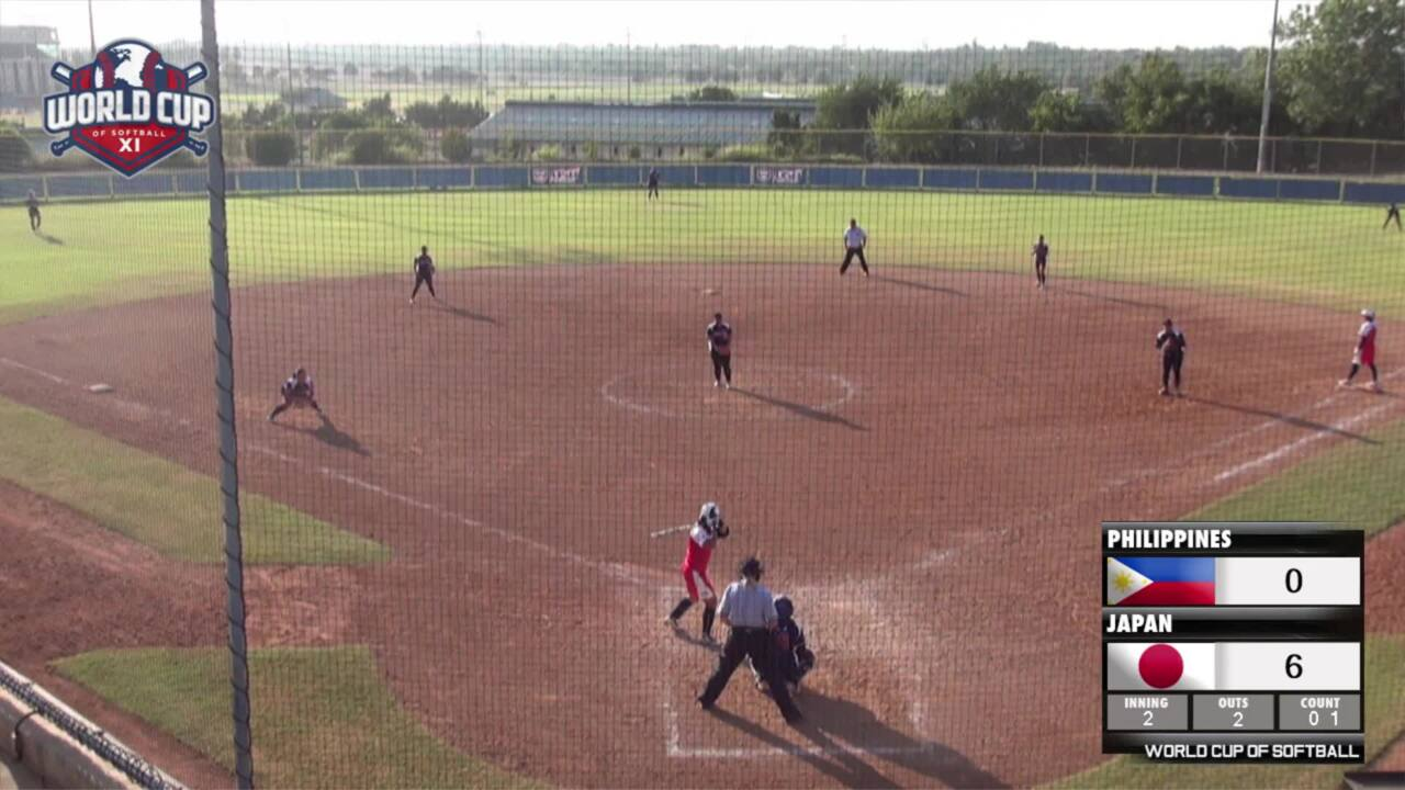 World Cup of Softball XI: Philippines vs Japan