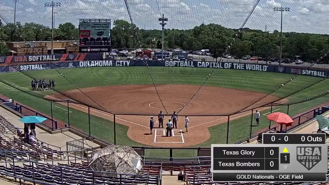 18 GOLD | July 24 | 12 pm OGE Energy | Prospex vs TX Bombers
