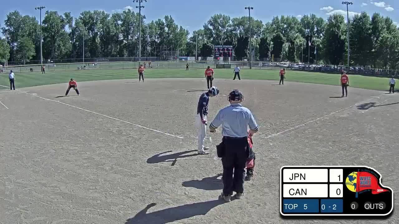 2016 WBSC JMWC: Canada vs Japan.mp4