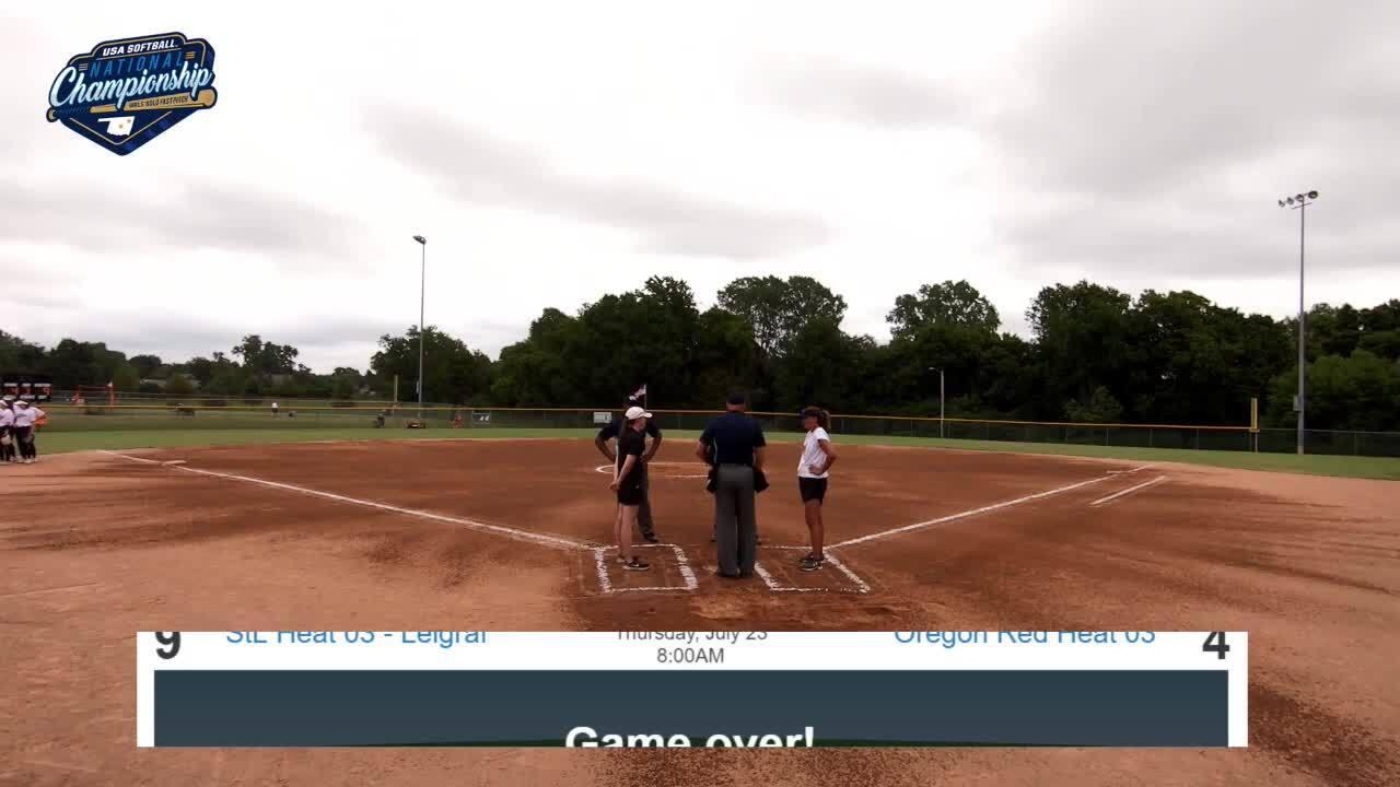 16 GOLD | July 23 | 10 am Field 2 | IA Premier vs 16U Vision