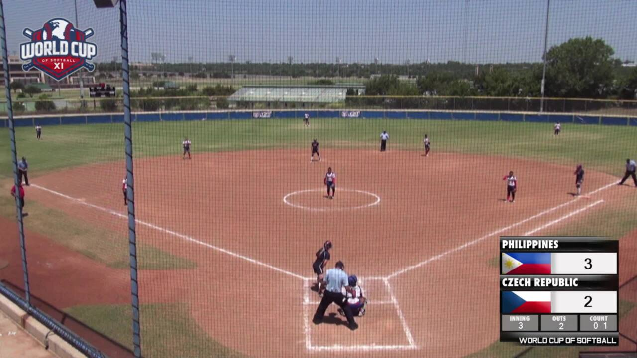 World Cup of Softball XI: Philippines vs Czech Republic