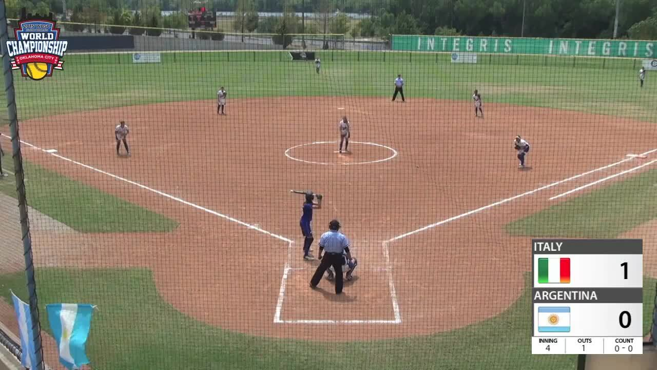 WBSC JWWC - Argentina vs Italy