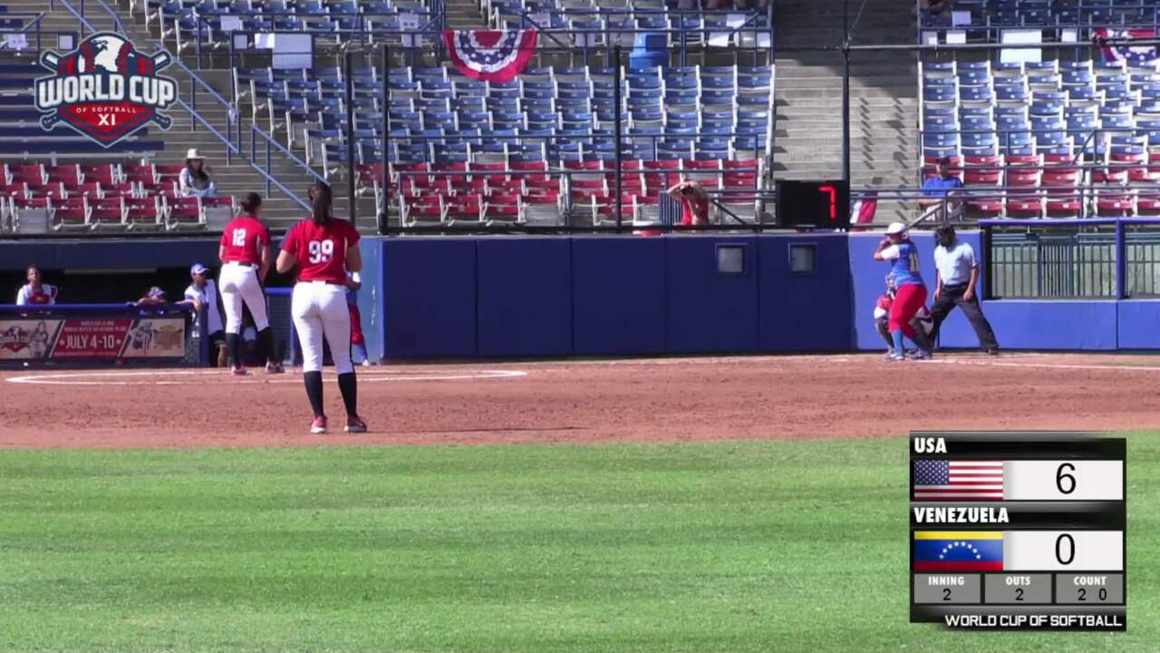 World Cup of Softball XI: USA vs Venezuela