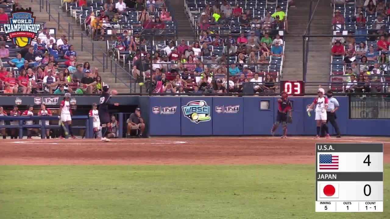 WBSC JWWC - Gold Medal Game