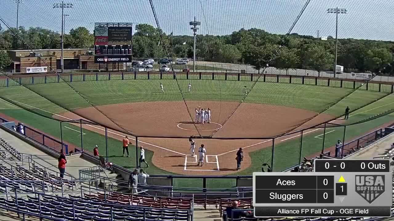 Alliance FP Fall Cup | Oct 2 | 10:45 am OGE Energy Field | Aces vs Louisville Lady Sluggers