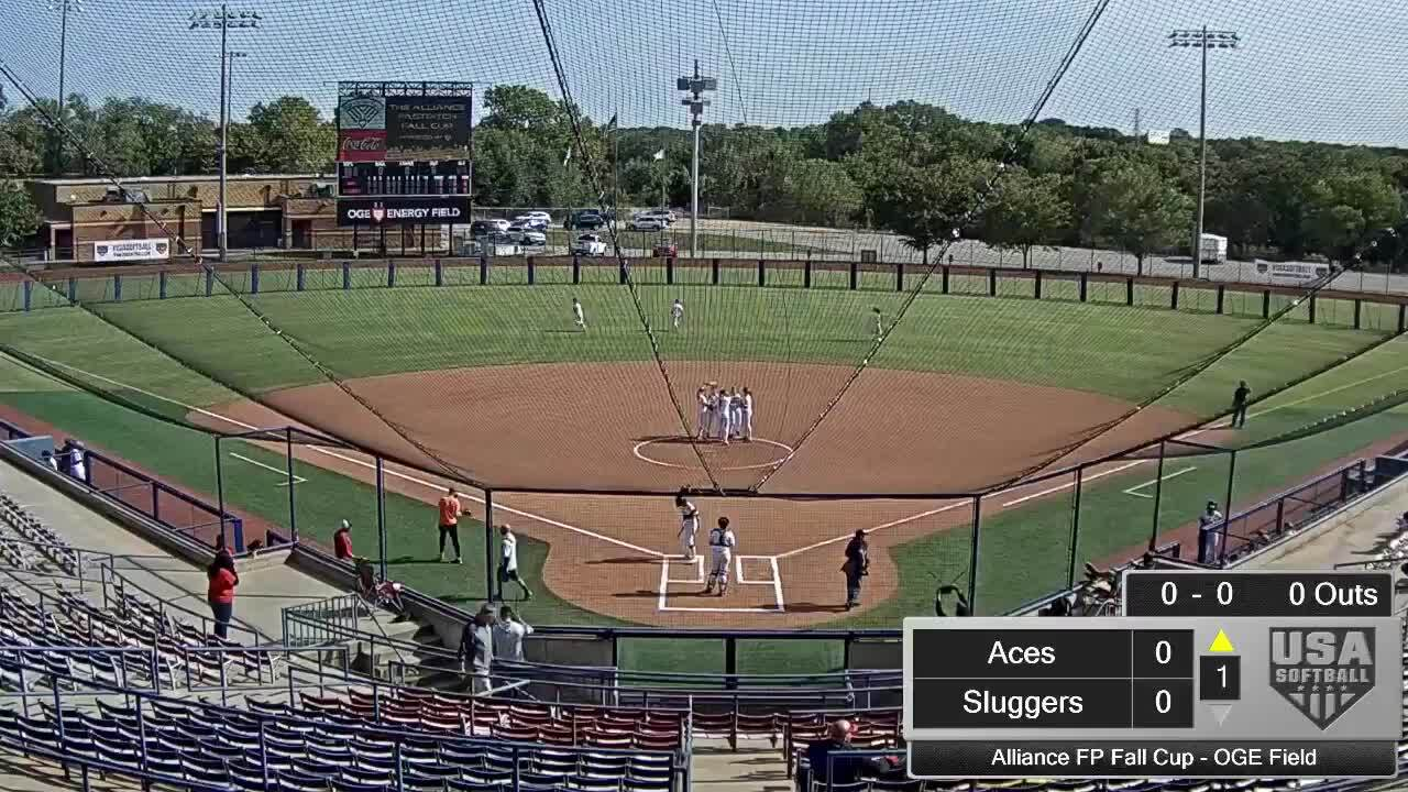 Alliance FP Fall Cup | Oct 2 | 10:45 am OGE Energy Field | Aces vs Louisville Lady Sluggers