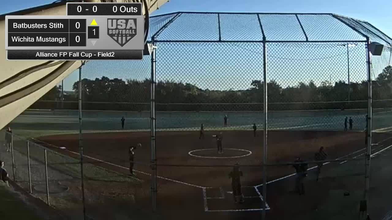 Alliance FP Fall Cup | Oct 4 | 8 am Field 2 | Wichita Mustangs vs OC Batbusters Stith/Maroon