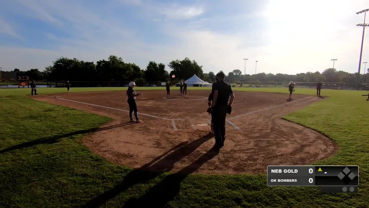 16 GOLD   July 20   8 am Field 10   OK Bombers_Aud @ Nebraska Gold 16s National - Singleton