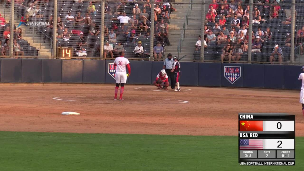 USA Softball International Cup - USA Red vs China