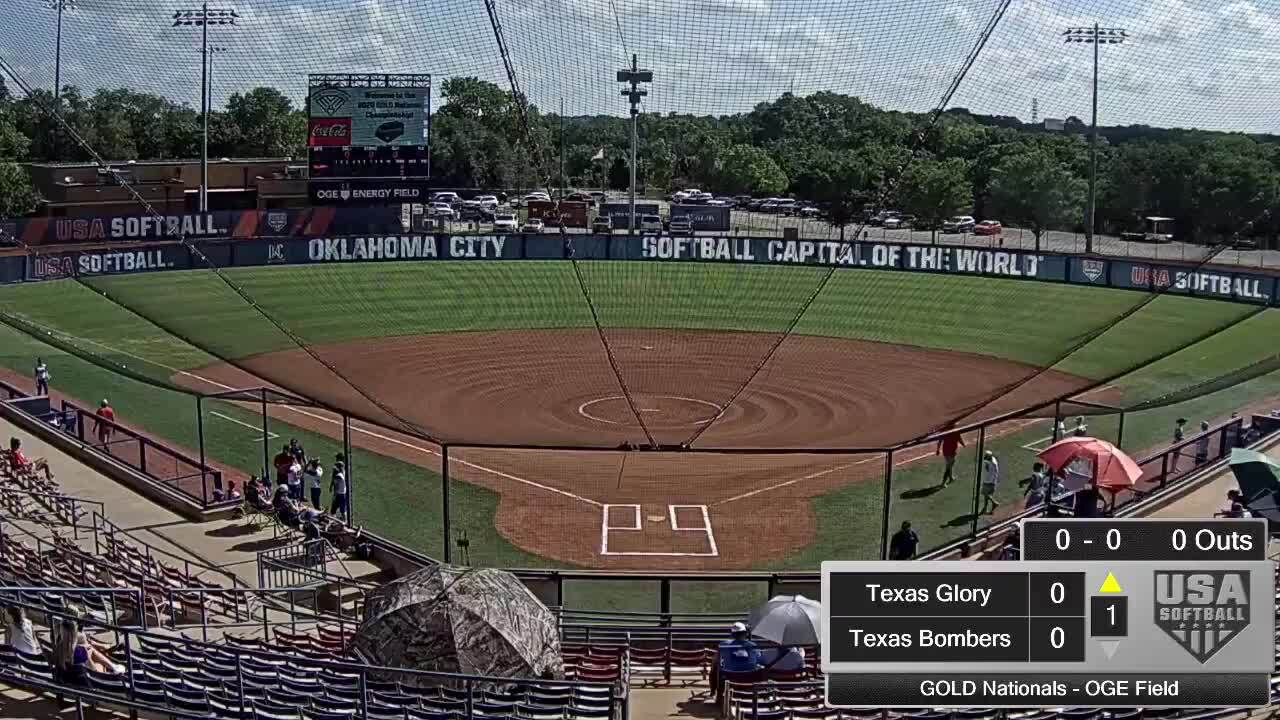 18 GOLD | July 24 | 10 am OGE Energy | TX Glory Gold vs Texas Bombers Gold