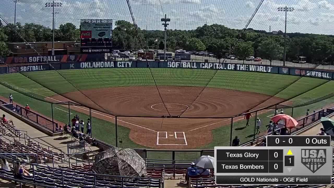 18 GOLD | July 24 | 10 am OGE Energy | TX Glory Gold vs Texas Bombers Gold