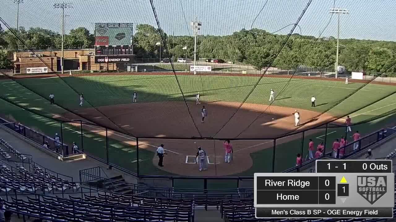 September 6 | Men's Class B SP | 6 pm OGE Energy | River Ridge vs PTS