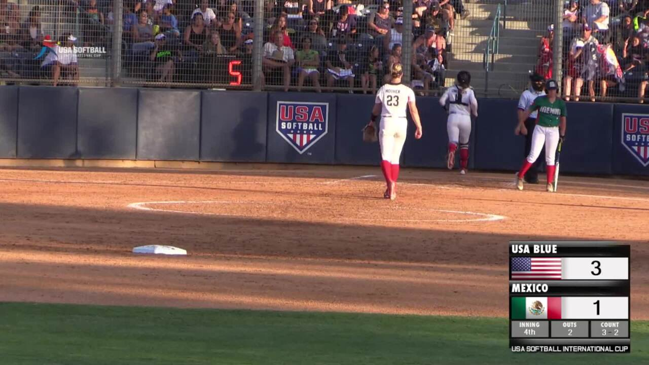USA Softball International Cup - USA Blue vs Mexico