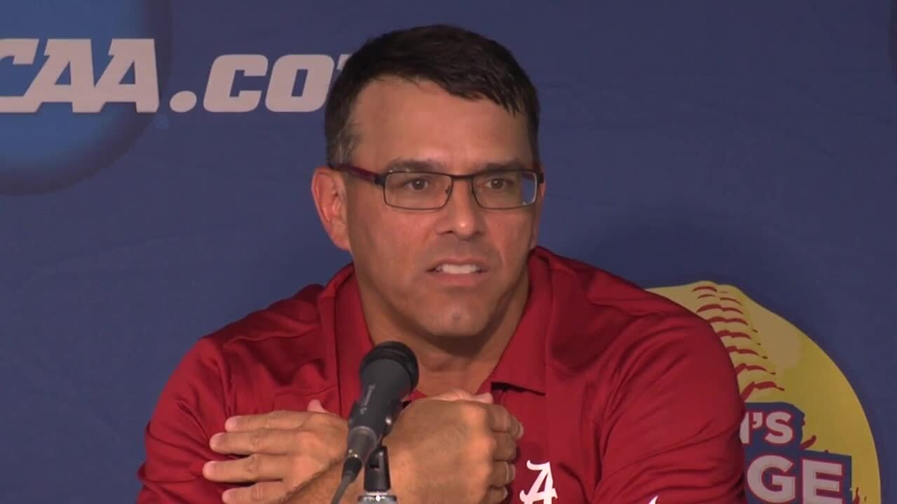 2014 NCAA WCWS Game 12 - Alabama Press Conference 6/1/14