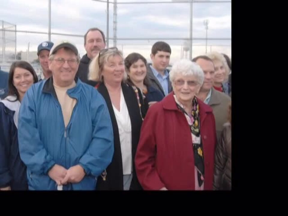 Bertha Ragan Tickey Softball Field Dedication.VOB
