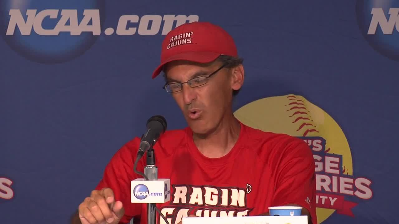 2014 NCAA WCWS Game 8 - Lafeyette Press Conference 5/31/14