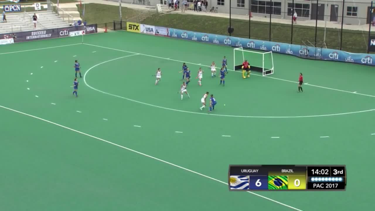 PAC Women - Uruguay vs. Brazil