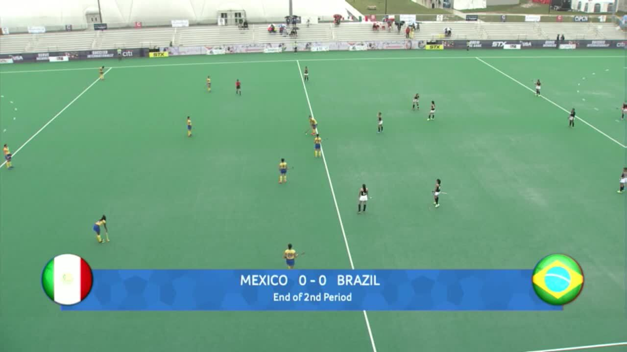 PAC Women - Mexico vs. Brazil