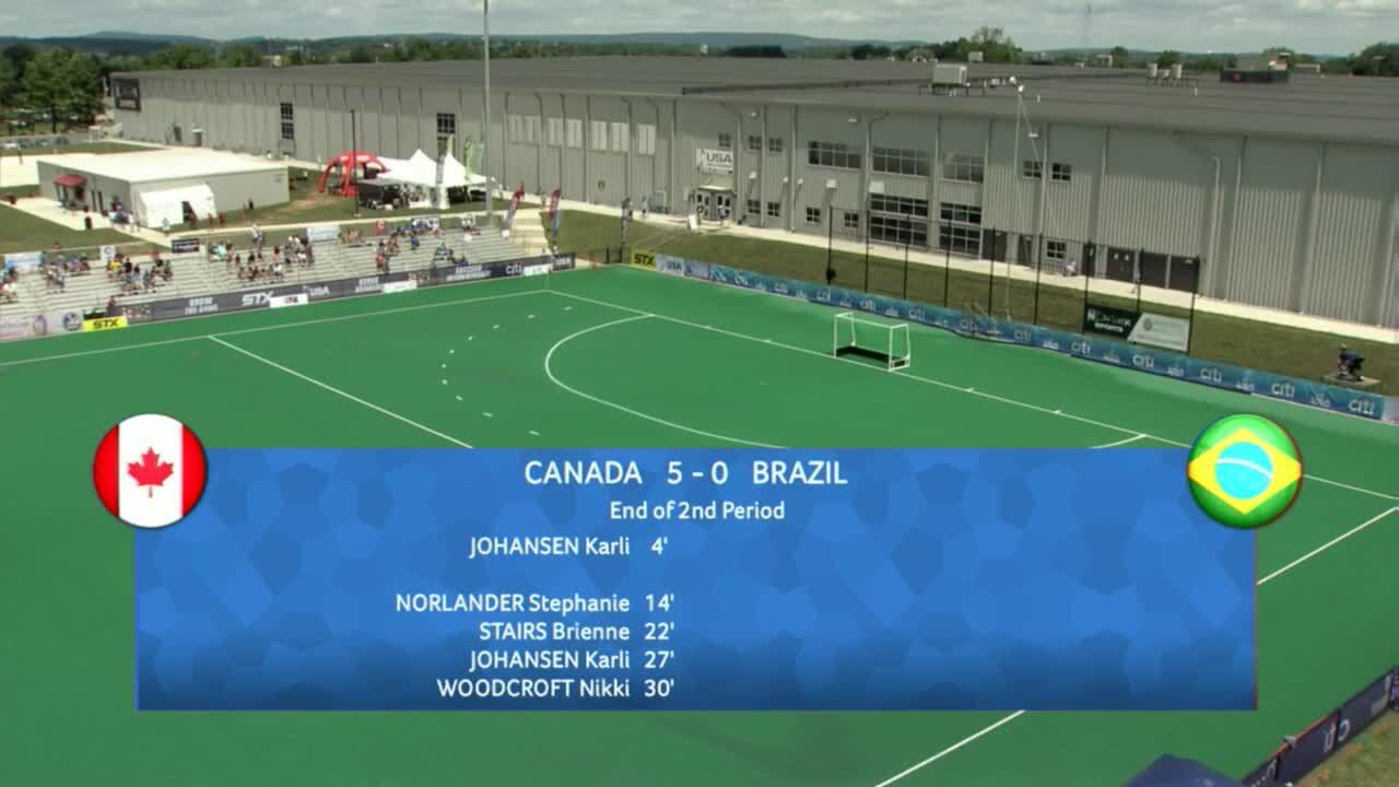 PAC Women - Canada vs. Brazil