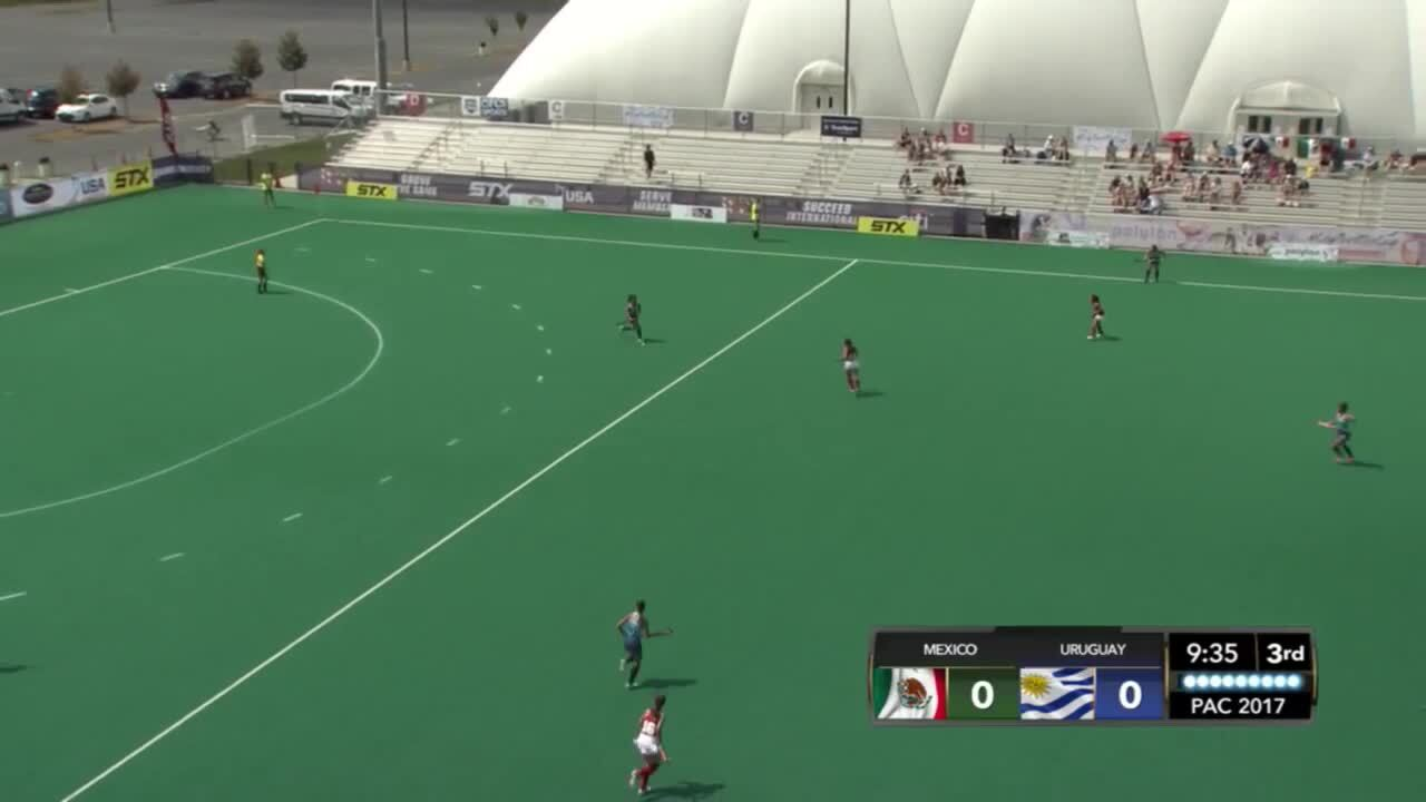 PAC Women - Mexico vs. Uruguay