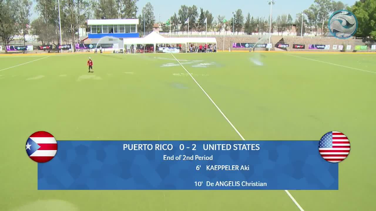 2018 FIH Hockey Series Open: USA vs. Puerto Rico
