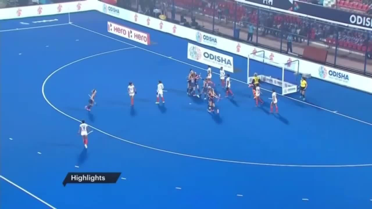 2019 FIH Hockey Olympic Qualifier- USWNT vs. India Game 2 Highlights
