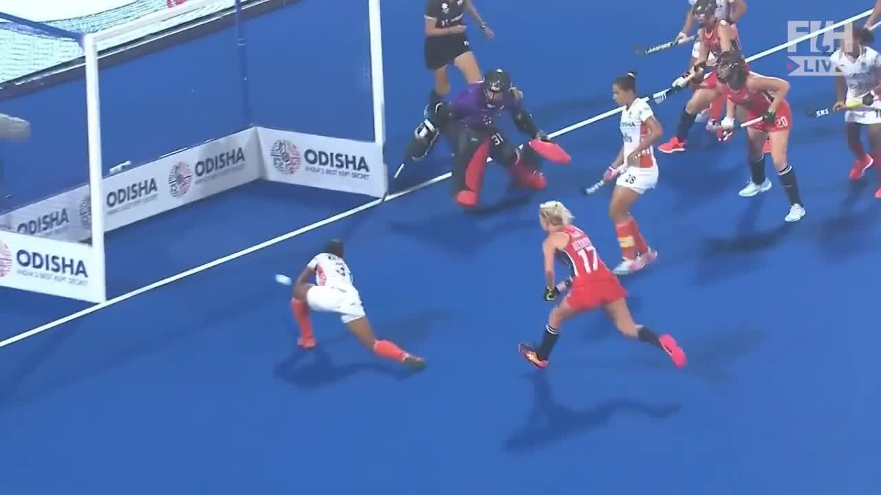 2019 FIH Hockey Olympic Qualifier- USWNT vs. India Game 1 Highlights