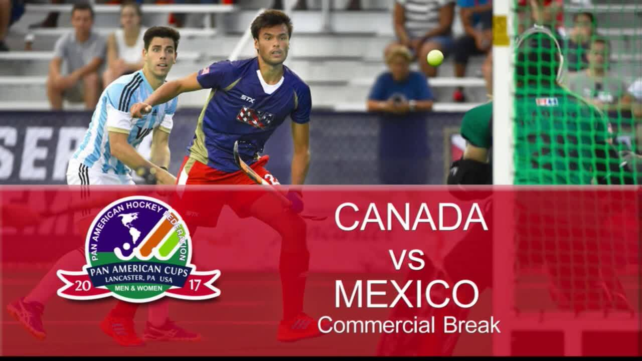 PAC Men - Canada vs. Mexico