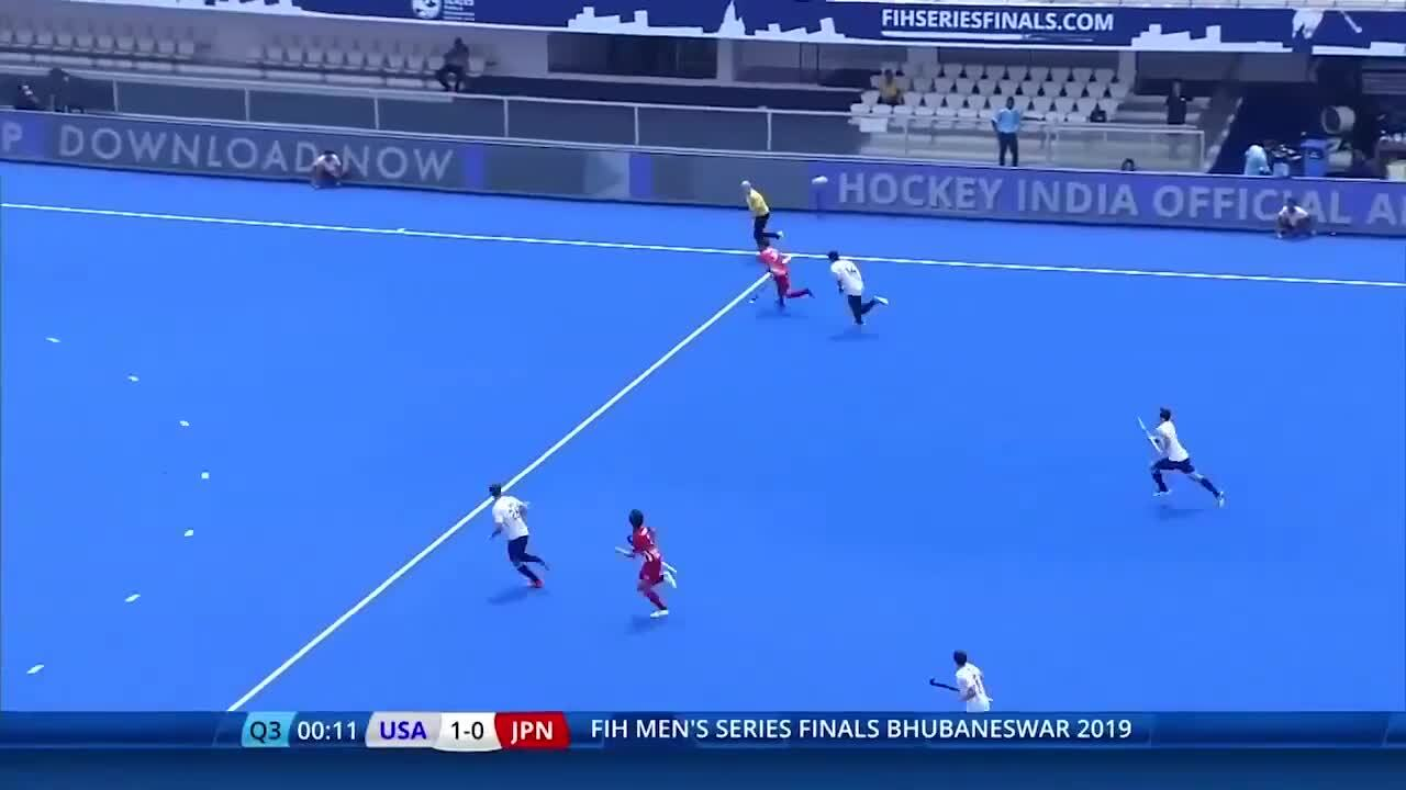 2019 FIH Series Finals: USA vs. Japan Bronze Medal Highlights