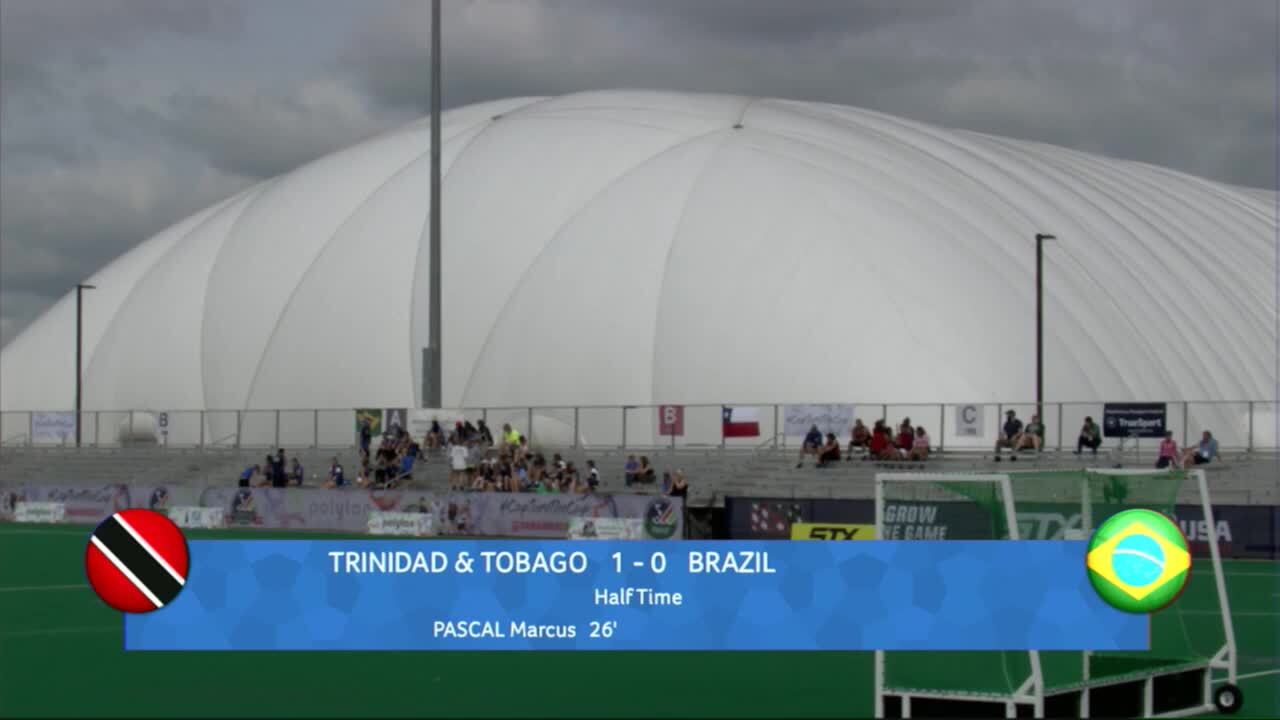 PAC Men - Trinidad & Tobago vs. Brazil
