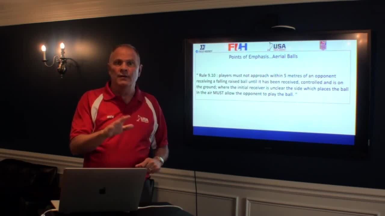 2019 USA Field Hockey National Outdoor Rules Briefing
