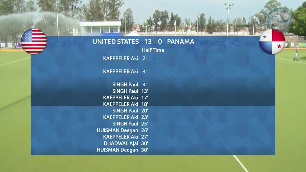 2018 Hockey Series Open: USA vs. Panama