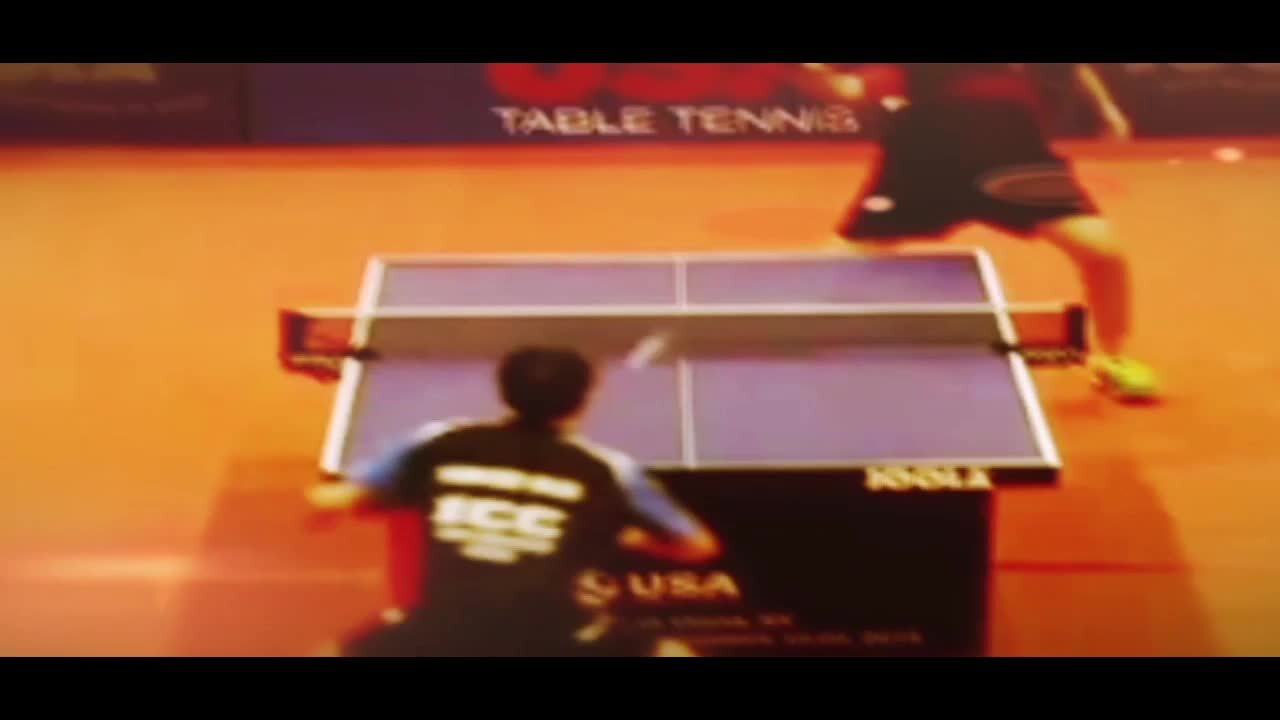 USA Table Tennis' Friends with Paddles