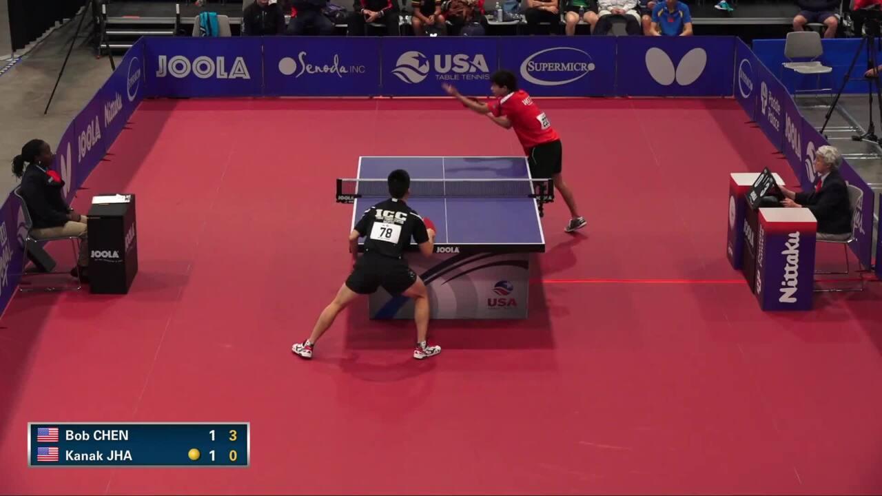 2016 US Open - Bob Chen vs. Kanak Jha (Men's QF)
