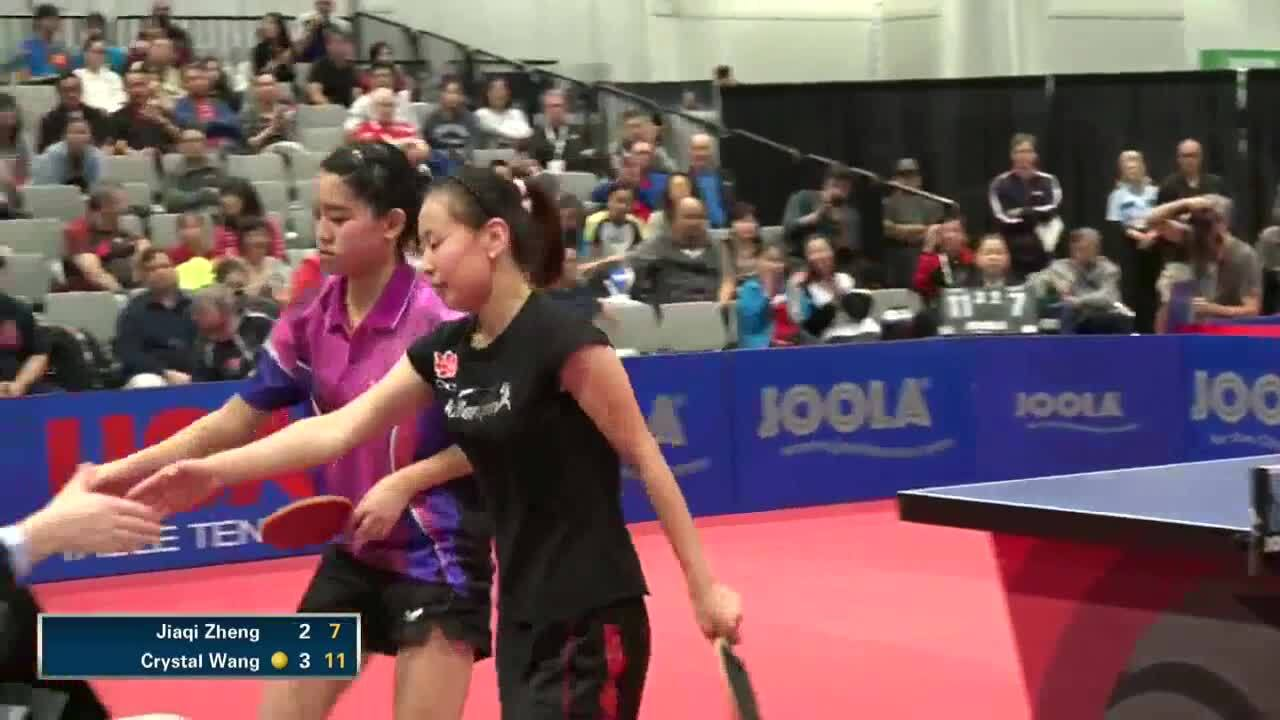 Crystal Wang 2014 Highlights