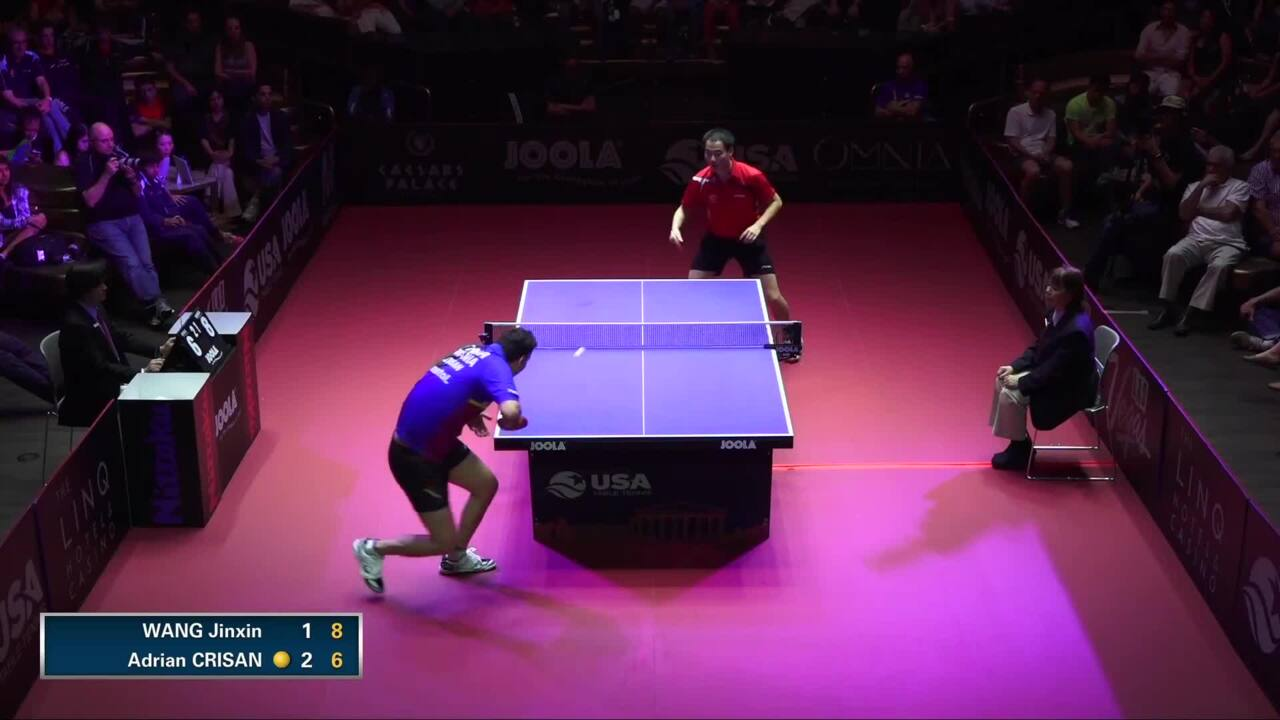 2015 US Open - Men's Singles Final - Adrian Crisan vs. Jinxin Wang