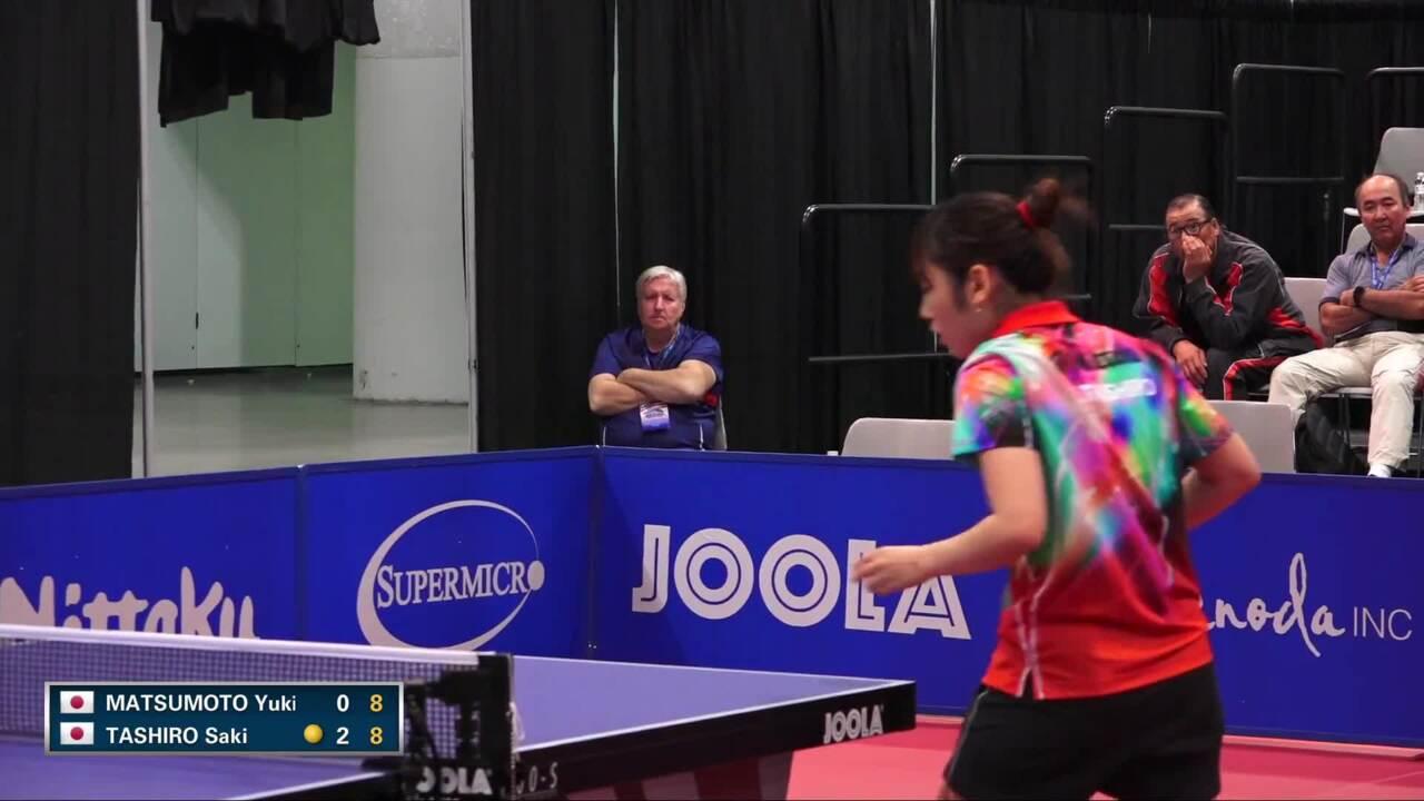 2016 US Open - Yuki Matsumoto vs. Saki Tashiro (Women's SF)