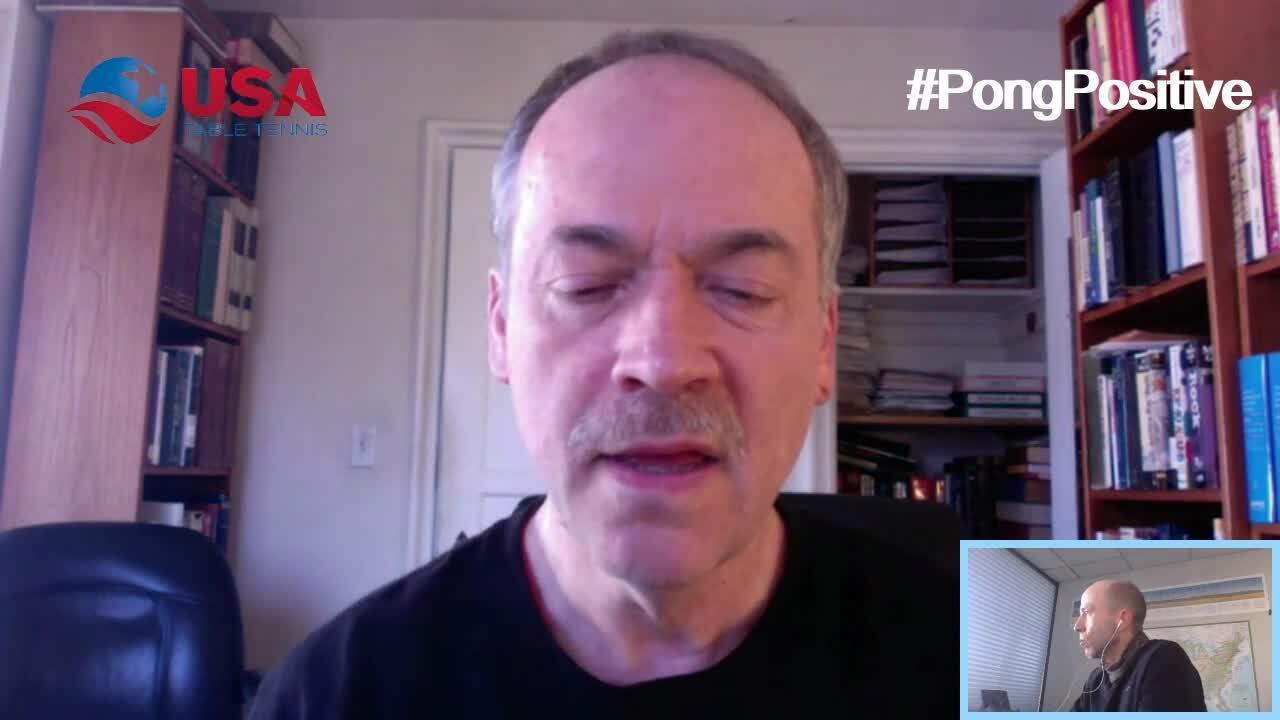 #PongPositive Interview Series - Will Shortz