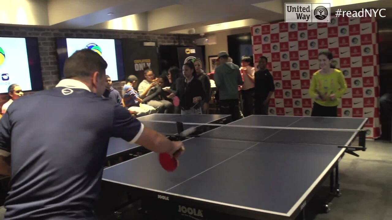 New York Cosmos Ping Pong Challenge